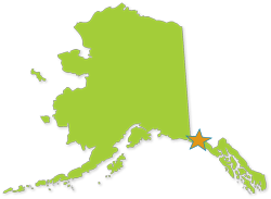Yakutat Corrected Map